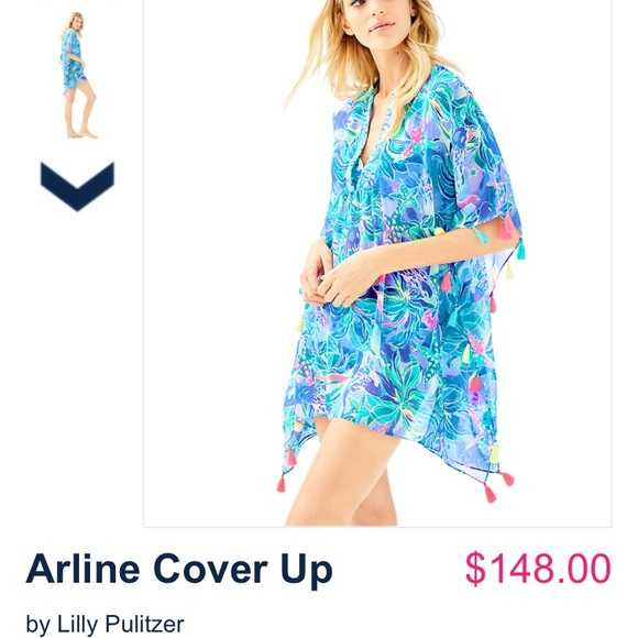 7f628f3a3a90b Lilly Pulitzer Other - Lilly Pulitzer swim Arline cover up